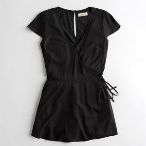 Wrap-Front Romper From Hollister